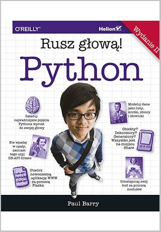 Seria książek Rusz głową! - Python