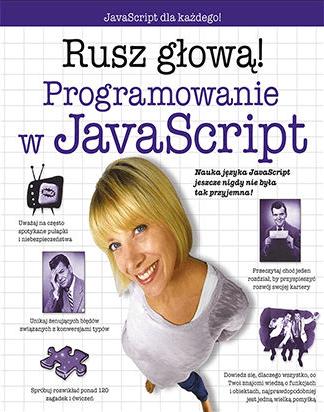 Seria książek Rusz głową! - JavaScript