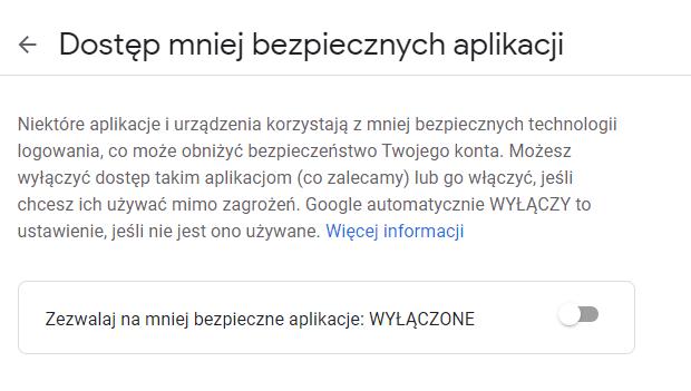 BomMail testowanie poczty spamem - dostęp