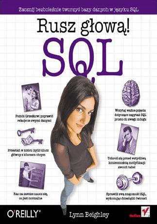 Książki do nauki SQL - rusz głową