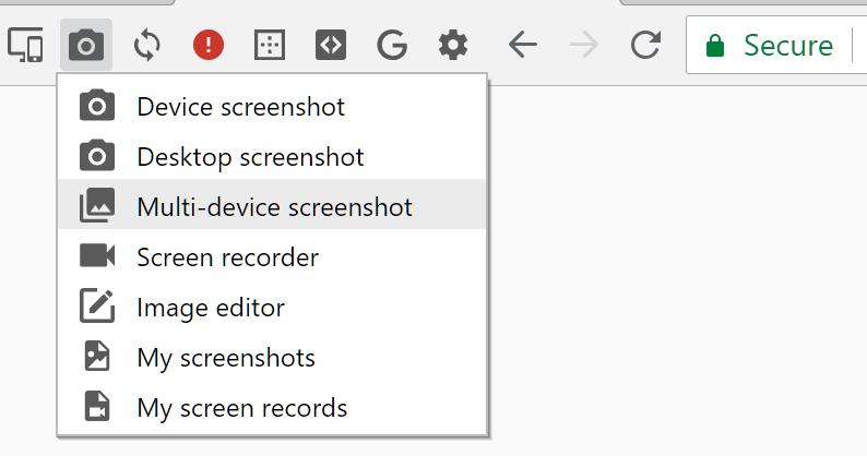 Blisk.io testowanie responsywności stron - screenshots