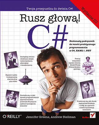 Seria książek Rusz głową! - C#
