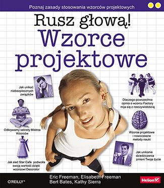 Seria książek Rusz głową! - Wzorce projektowe