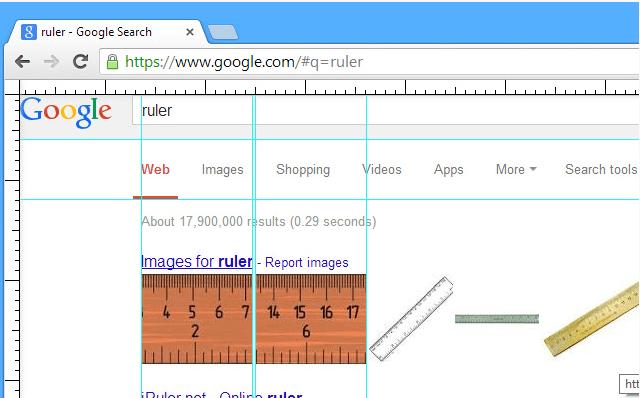 Chrome wtyczki dla testerów cz. 7 - Grid Ruler