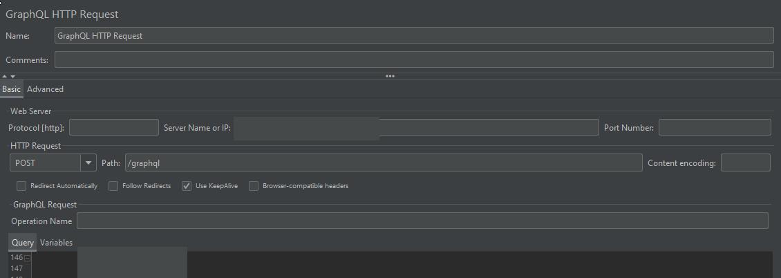 Testowanie GraphQL z JMeterem - query